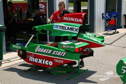 Bodywork of Fernandez Racing car