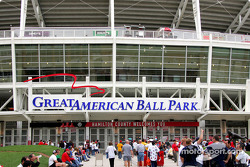 Welcome to the Great American Ball Park, home of the Cincinnati Reds