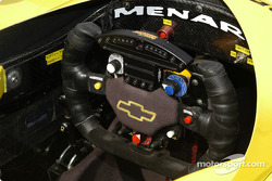 Tomas Scheckter steering wheel