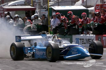 Patrick Carpentier on fire