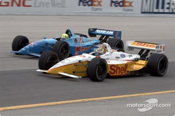 Kenny Brack and Christian Fittipaldi