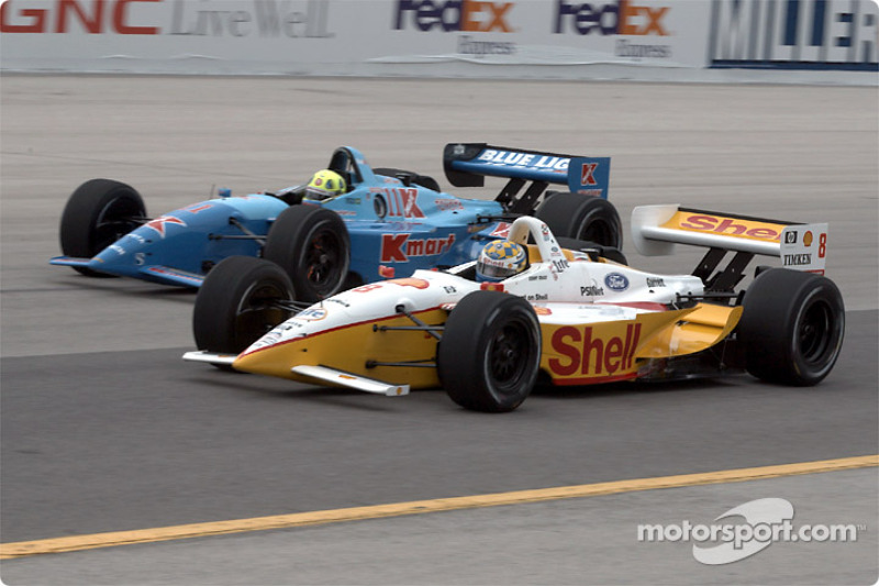 Kenny Brack and Christian Fittipaldi