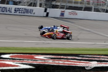 Memo Gidley and Scott Dixon