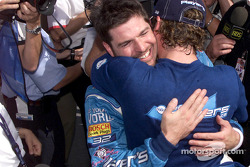 Team Player's on the front row: Patrick Carpentier and Alex Tagliani