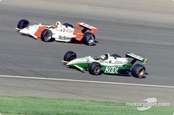 Helio Castroneves and Dario Franchitti