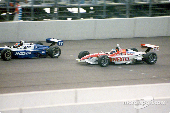 Bryan Herta and Max Papis