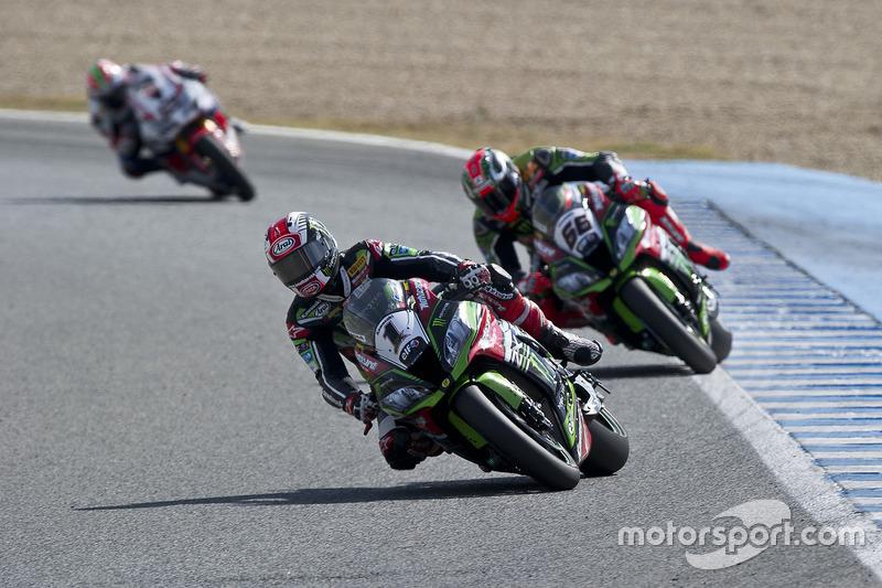 Jerez 2: Platz 2 hinter Davies. 21/24 Podeste