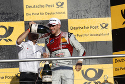 Podium: Edoardo Mortara, Audi Sport Team Abt Sportsline, Audi RS 5 DTM.