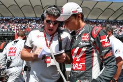 Startaufstellung: Esteban Gutierrez, Haas F1 Team