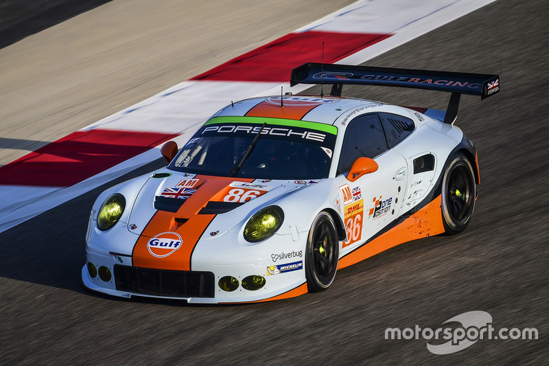 4. LMGTE-Am: #86 Gulf Racing, Porsche 911 RSR: Michael Wainwright, Adam Carroll, Ben Barker