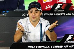 Felipe Massa, Williams in the FIA Press Conference