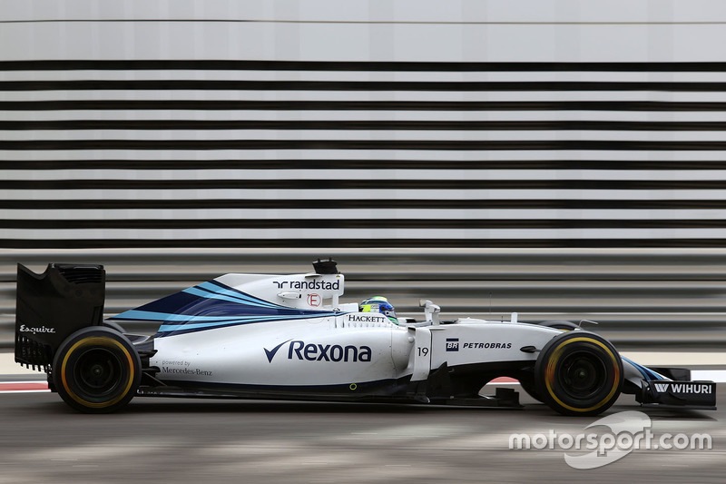 10. Felipe Massa, Williams F1 Team FW38