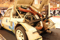 Automotive Photos - Peugeot Rally car