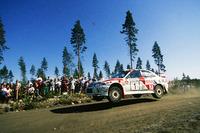 WRC Fotos - Tommi Makinen, Seppo Harjanne, Ralliart Mitsubishi Lancer Evo4