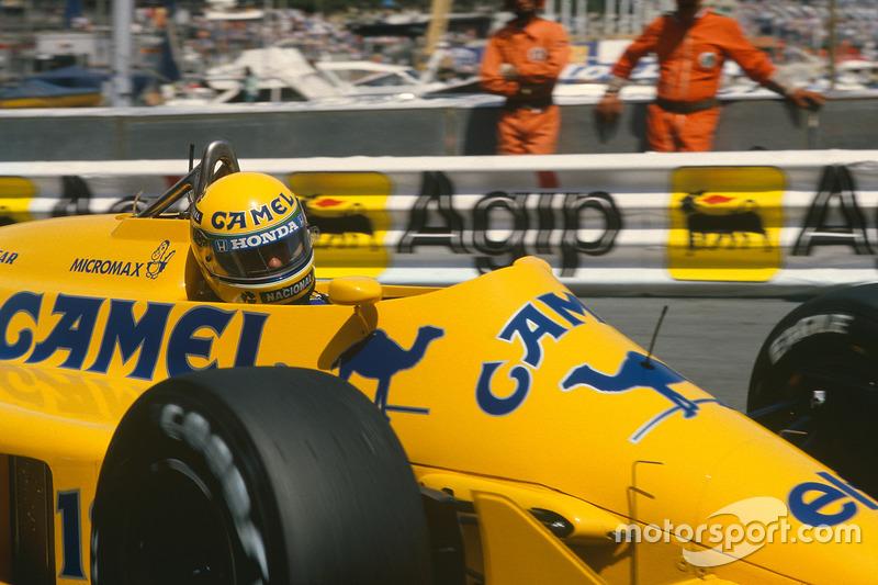 Resultado de imagen de Detroit - la última victoria de Lotus con Ayrton Senna