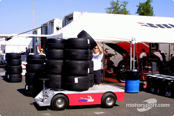 Bridgestone trailer