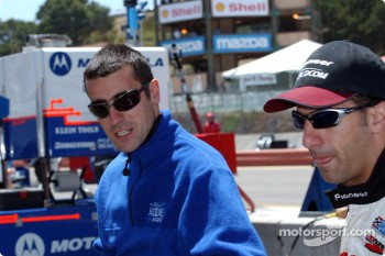 Dario Franchitti and Tony Kanaan