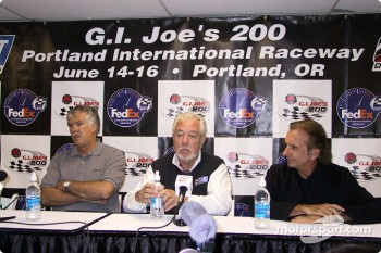 Press conference: Chris Pook and Emerson Fittipaldi