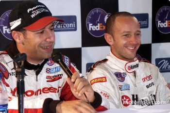 Press conference: Tony Kanaan and Cristiano da Matta