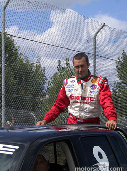 Drivers' parade: Michel Jourdain Jr.