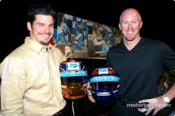 Team Player's announces their driver line up for 2003: Patrick Carpentier and Paul Tracy