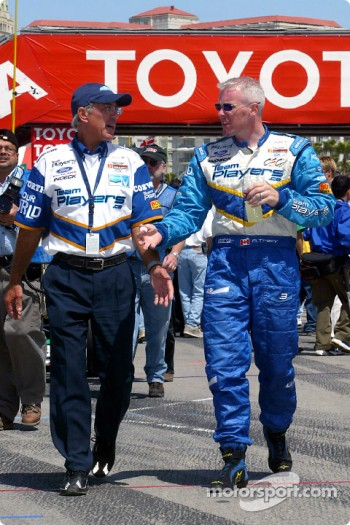Paul Tracy and Tony Cicale