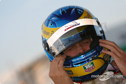 Sébastien Bourdais gets ready