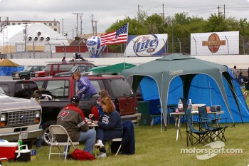 Infield crowd at The Milwaukee Mile
