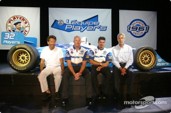 Team Player's press conference on Monday: Richard Spnard, Paul Tracy, Patrick Carpentier and Bob Bexon