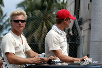 Drivers presentation: Mika Salo and Ryan Hunter-Reay
