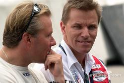 JJ Lehto and Stefan Johansson
