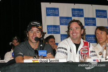 Press conference: Oriol Servia, Jimmy Vasser and Adrian Fernandez