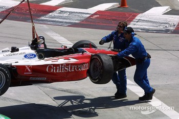 Jimmy Vasser already out
