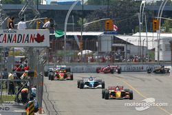Restart: Sébastien Bourdais leads the field