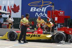 Mi-Jack Conquest Racing pit area