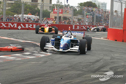 Paul Tracy leads Sébastien Bourdais