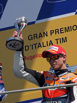Podium: third place Casey Stoner
