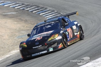 #70 Jonathan Bomarito, Sylvain Tremblay Mazdaspeed, Castrol Edge Mazda RX-8, SpeedSource