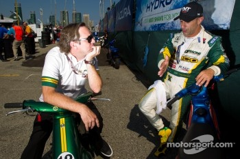 Jimmy Vasser and Tony Kanaan, KV Racing Technology-Lotus