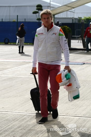 Nico Hulkenberg, Force India F1 Team, Test Driver