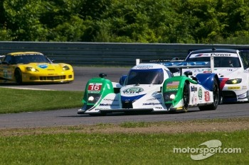 Dyson Racing overtakes GT cars at Lime Rock