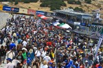 Fans swam the pitlane for the traditional Fan Walk for the Continental Tire Sports Car Festival, powered by Mazda at Mazda Raceway Laguna Seca