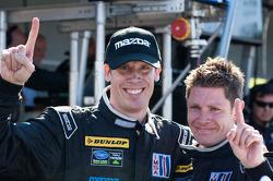 Chris Dyson & Guy Smith Celebrate Dyson Racing's Victory
