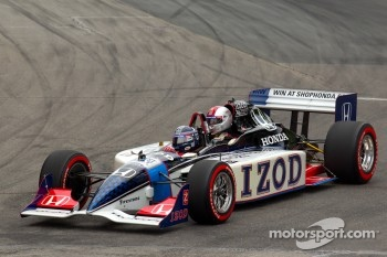 The IndyCar two seater experience car