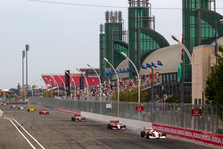 Esteban Guerrieri, Sam Schmidt Motorsports leads the field