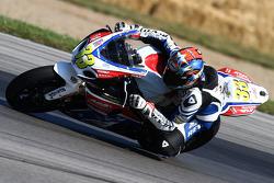 #33 ADR Fly Racing, Suzuki GSX-R1000: Jordan Burgess