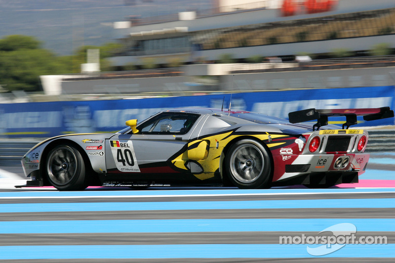 #40 Belgian Racing Ford GT: Bas Leinders, Marc Hennerci