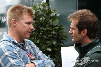 Mika Salo and Jarno Trulli, Team Lotus