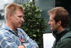 Mika Salo and Jarno Trulli, Team Lotus