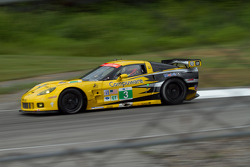 Olivier Beretta and Tom Milner, Chevrolet Corvette C6 ZR1